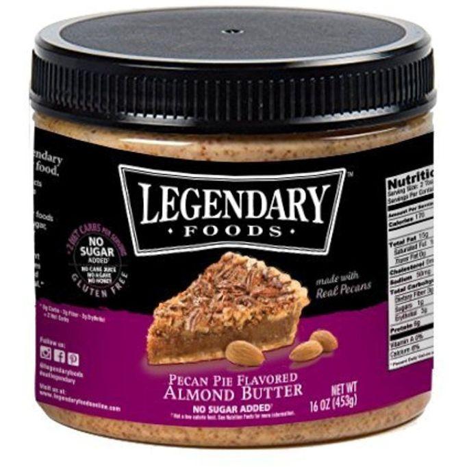 Legendary Foods Pecan Pie Keto Almond Butter