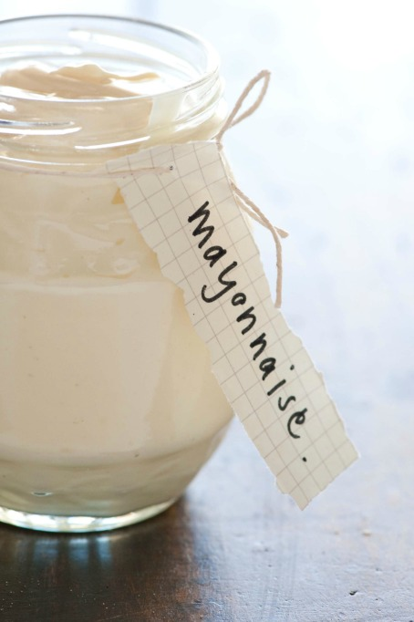 Homemade Condiments: Homemade mayo is 100 times better than the storebought stuff