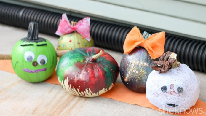 5 No-carve pumpkin decorating ideas