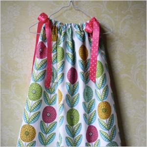 DIY dress from a pillowcase