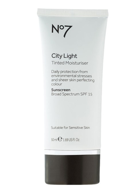 Tinted Drugstore Moisturizers: No7 City Light Tinted Moisturizer