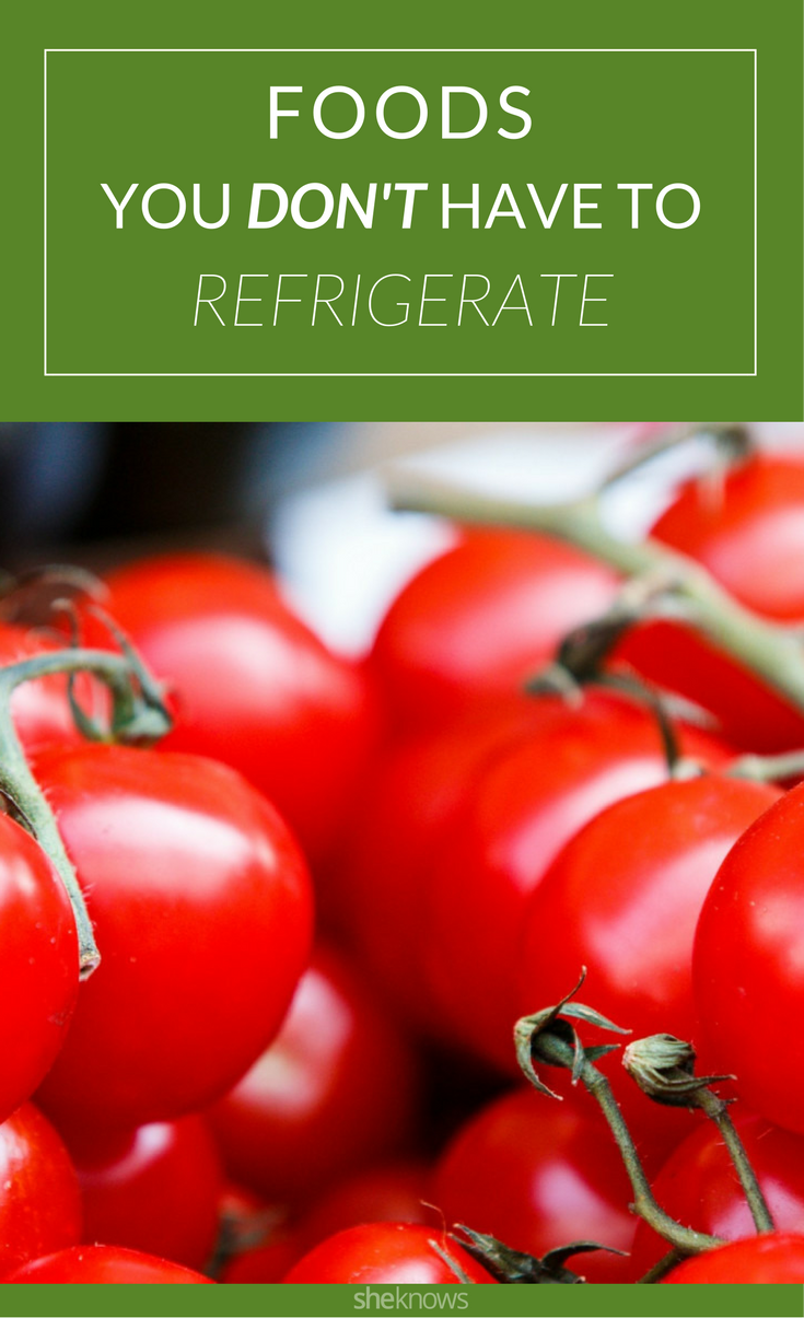 foods that don't need refrigeration