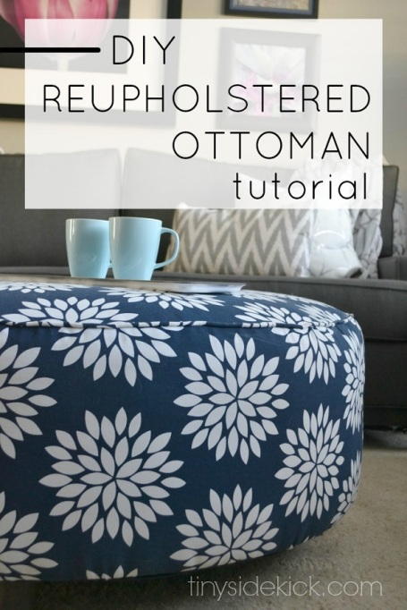 Fit with flair ottoman
