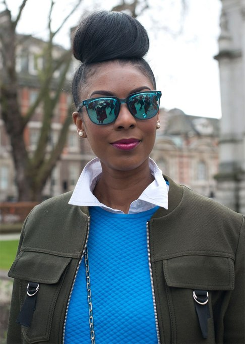 Standout Ways To Style Long Hair | Super Sized Top Knot