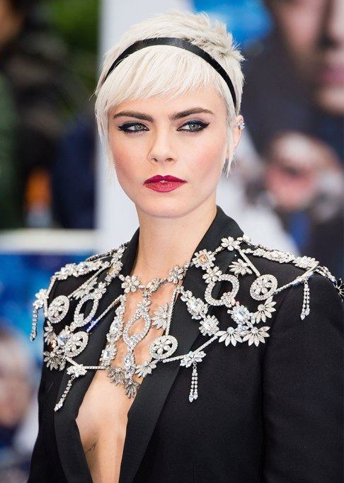 Dramatic Celebrity Hair Makeovers | After: Cara Delevingne