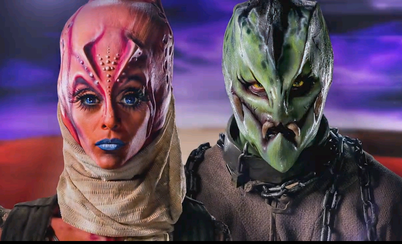 Nora Hewitt and Jasmine Ringo's gatekeeper makeups