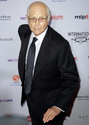 Norman Lear at the Emmys