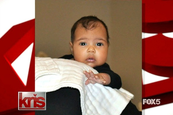 North West baby photo