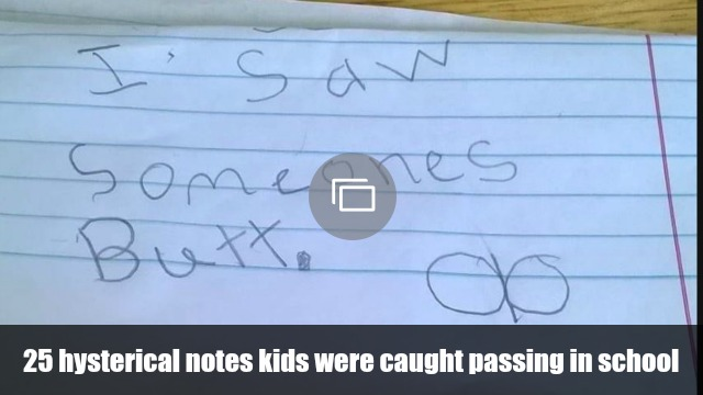 notes kids pass