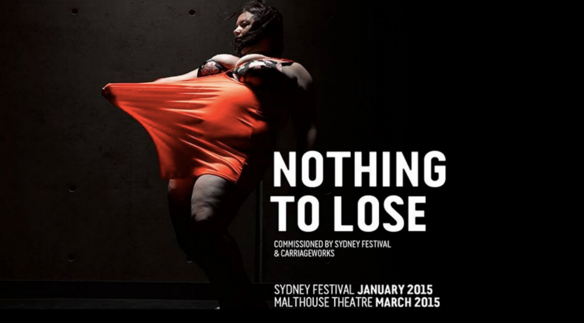 Nothing to Lose is part of the Sydney Festival 2015