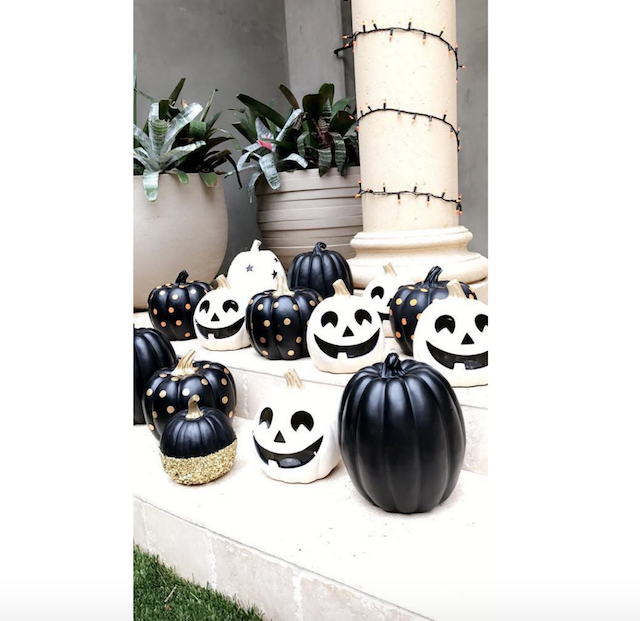 How celebs throw Halloween parties: Kourtney Kardashian