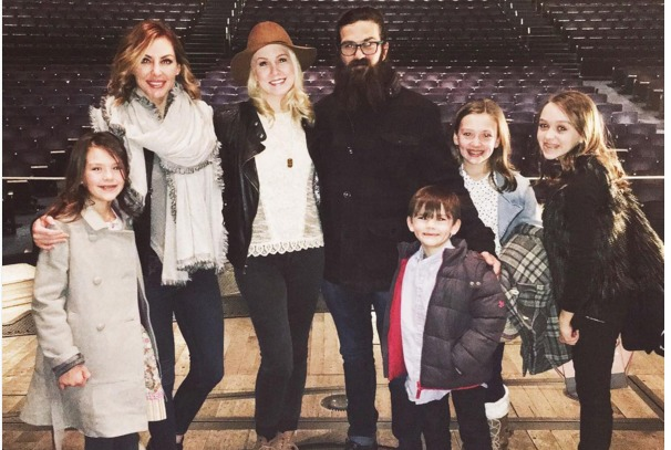 Jep Robertson and family