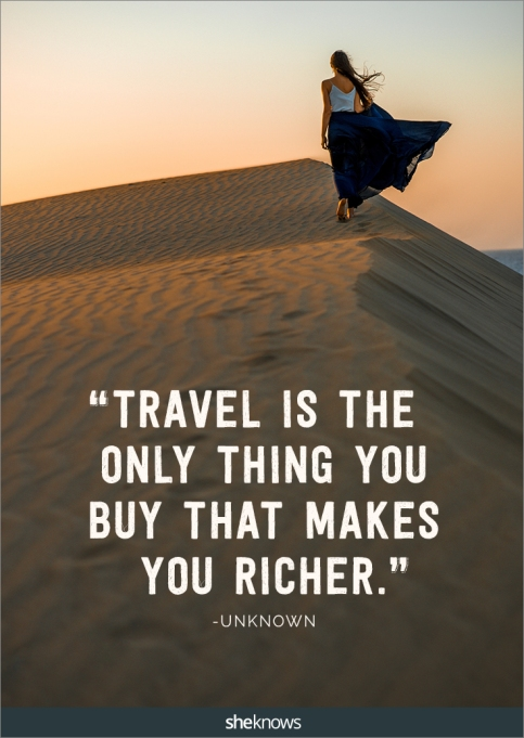 A travel quote by unknown