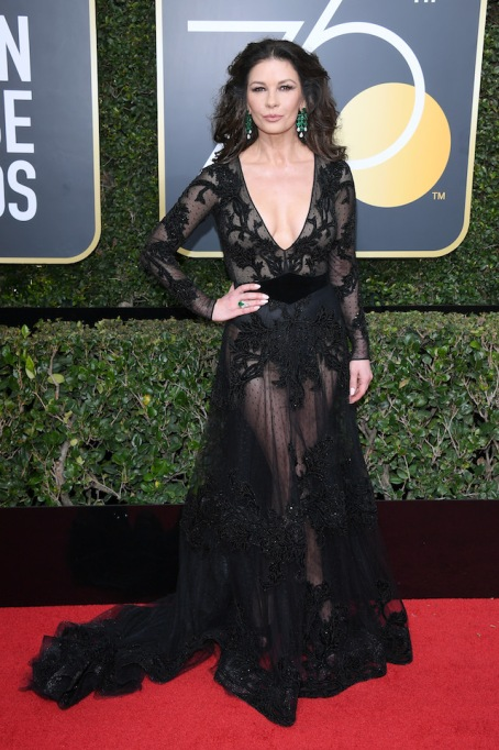 Best Golden Globes fashion 2018: Catherine Zeta-Jones