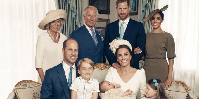 Official royal family portraits