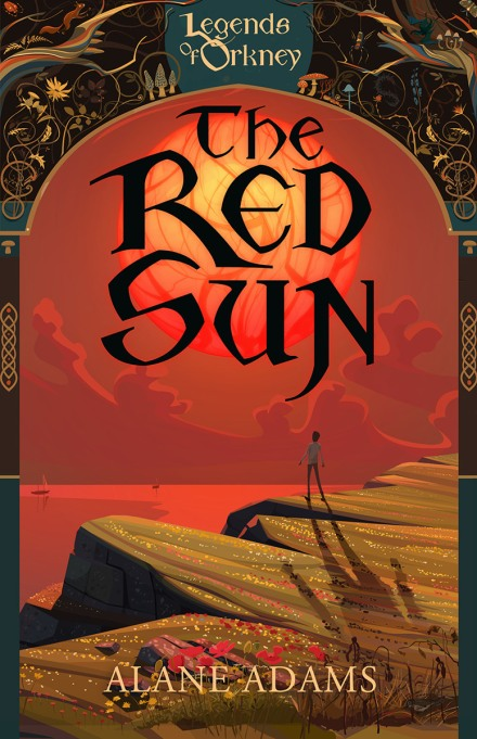 The Red Sun by Alane Adams audiobook