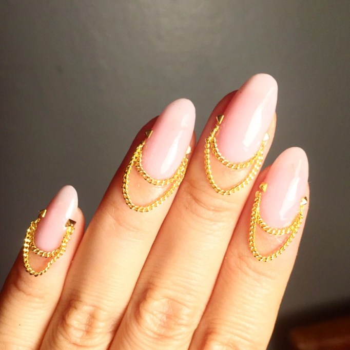 Chain Gang Nail Art