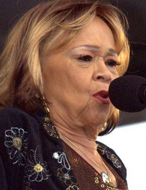 A gravely ill Etta James hospitalized