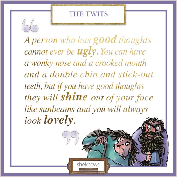 """Quote from """"The Twits"""""""