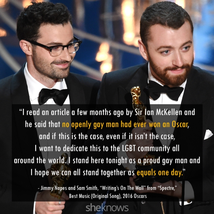 Jimmy Napes & Sam Smith Oscars 2016