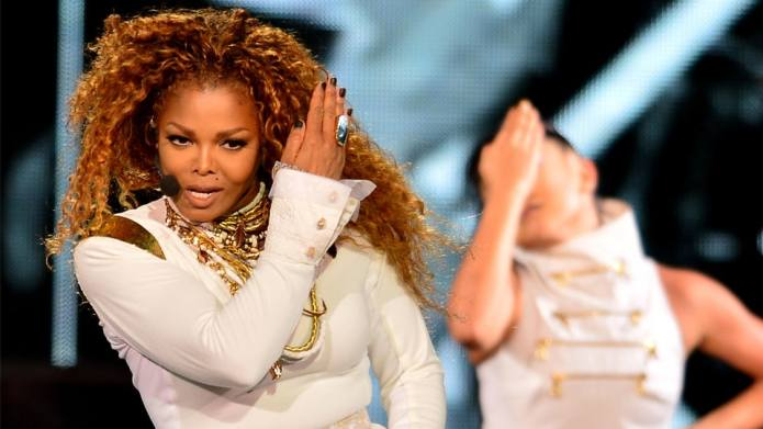 Janet Jackson's new mom life involves
