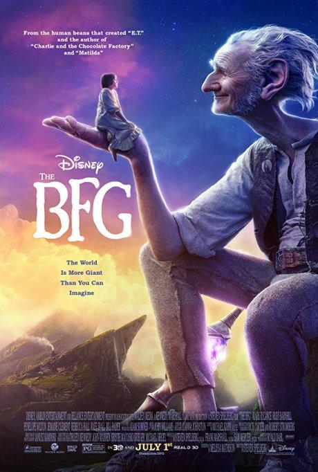 'Roald Dahl's The BFG' movie poster