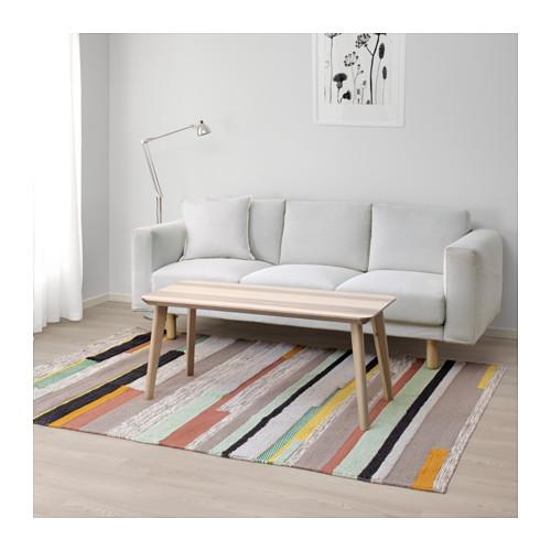 Ikea multicolored Brönden rug