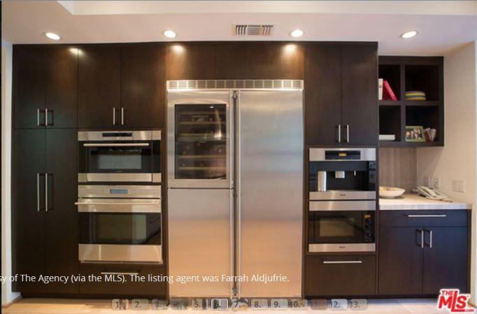Kris Jenner kitchen appliances