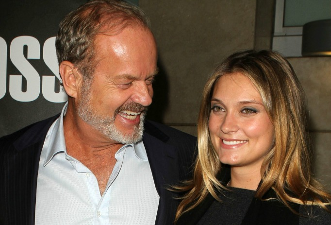 Celebrities with famous fathers: Spencer Grammer & Kelsey Grammer