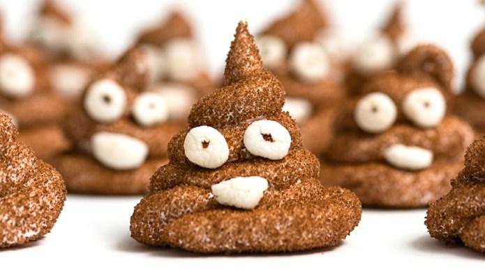 Someone made poop emoji Peeps, and