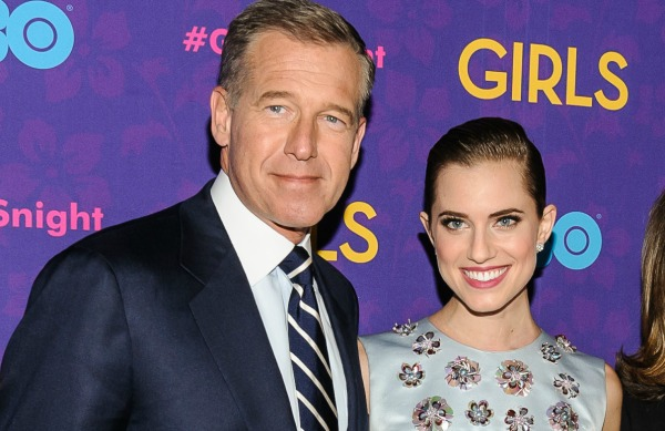 Celebrities with famous fathers: Allison Williams & Brian Williams