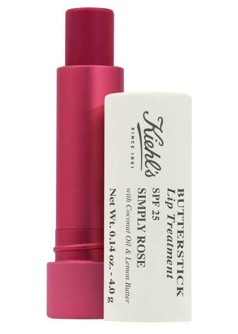 Super Moisturizing Lip Balms to Shop For | Butterstick Lip Treatment SPF 25 in Touch of Berry