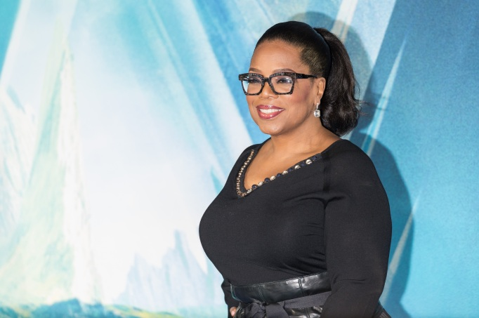 Oprah Winfrey at the London premiere of A Wrinkle In Time