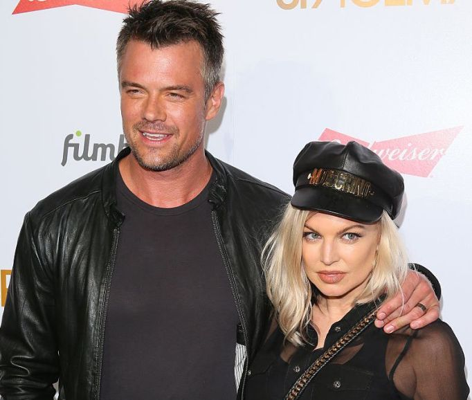Fergie & Josh Duhamel attend the premiere of Spaceman