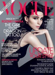 Dragon Tattoo's Rooney Mara glams it
