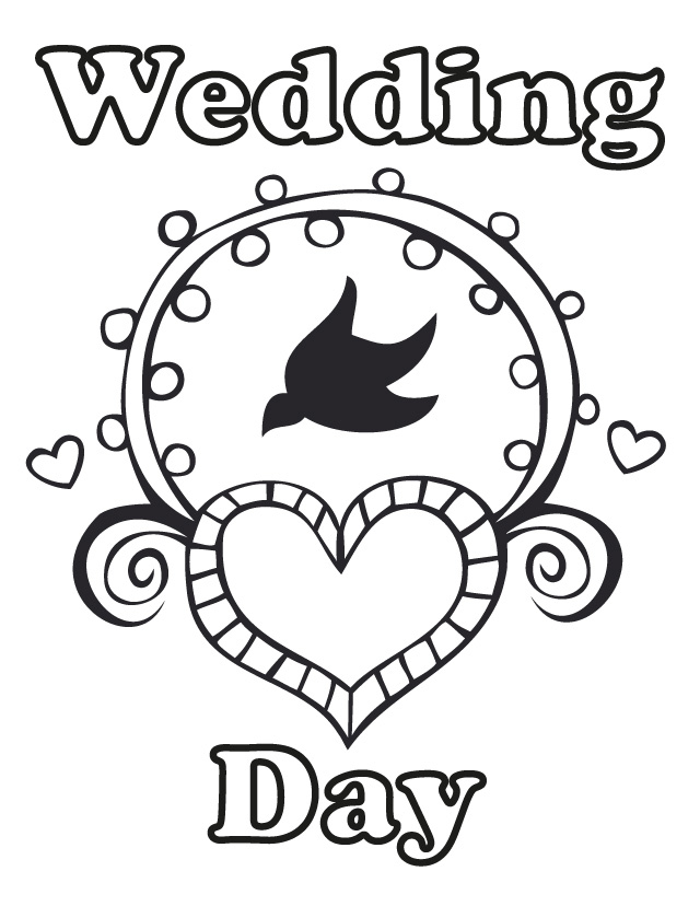photograph relating to Wedding Coloring Books Printable titled 17 Marriage Coloring Webpages for Children Who Enjoy in the direction of Aspiration Above