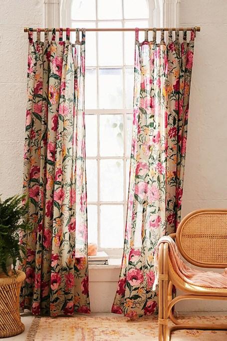 Poppy Window Curtain