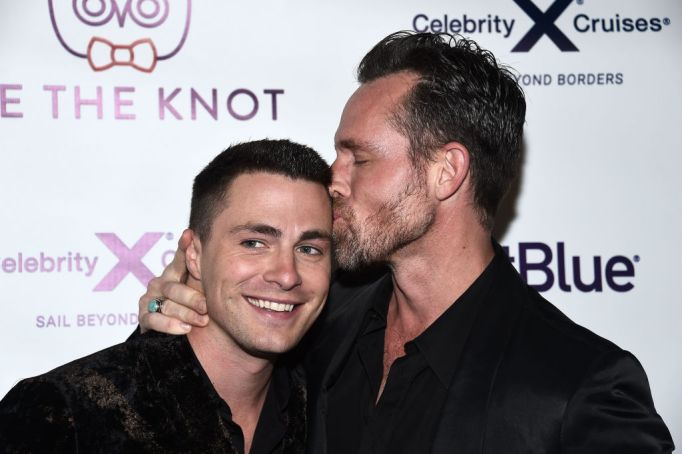 Celeb Couples Who Pack on the PDA: Colton Haynes and Jeff Leatham