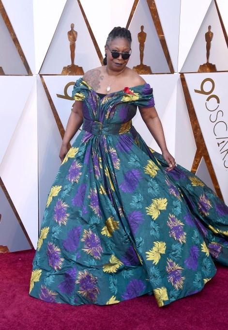 Whoopi Goldberg Oscars 2018