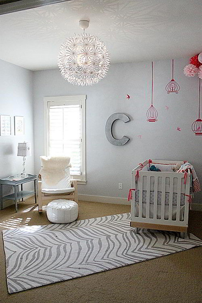 Gray And C Nursery