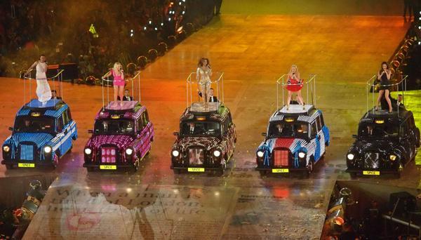 Spice Girls' Olympics closing ceremony fashion: