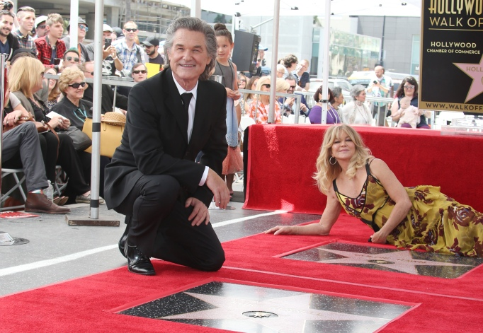 32 Celebrities Who Got a Star on the Walk of Fame in 2017: Goldie Hawn & Kurt Russell