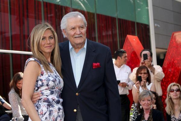 Celebrities with famous fathers: Jennifer Aniston & John Aniston