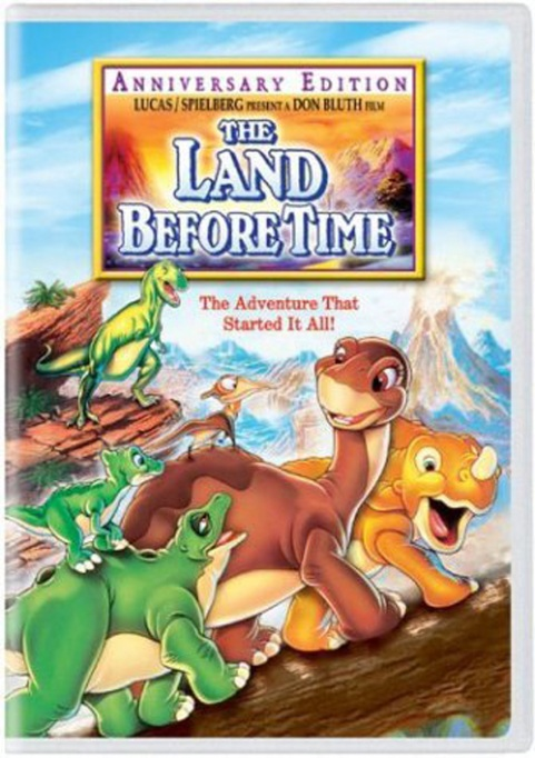 'The Land Before Time' DVD