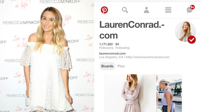 Celebs on Pinterest: Lauren Conrad