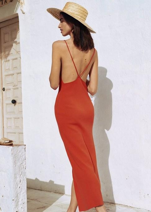 Summer Cocktail Dresses That Are Versatile: Nanushka Aya Dress in Red | Summer Fashion 2017