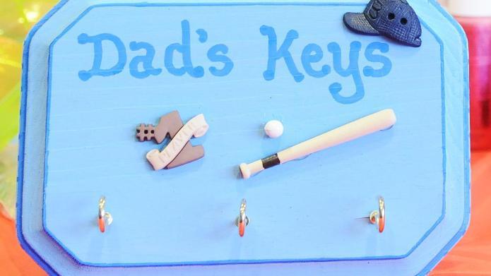 Craft: Dad's key keeper