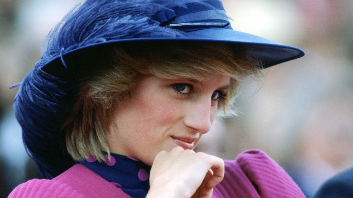 The Unusual Eyeliner Color Princess Diana