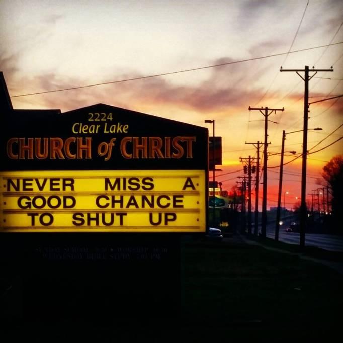 funny-church-signs-shut-up