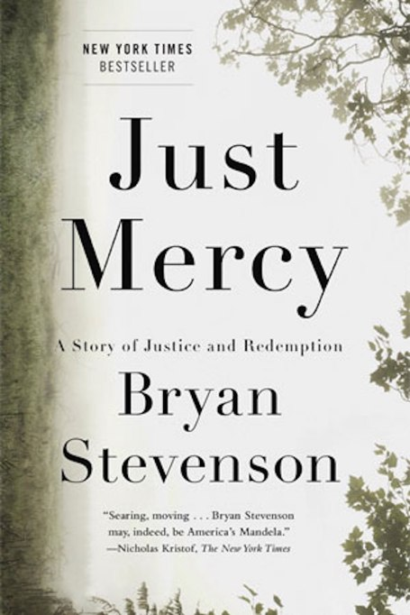 'Just Mercy' by Bryan Stevenson cover